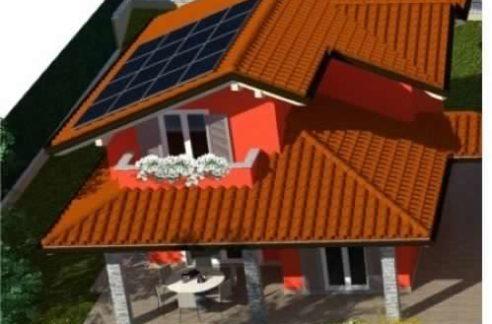 villa con giardino nuova costruzione vendita paruzzaro