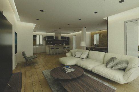 attico con terrazzo. nuova costruzione