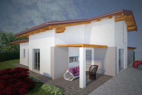 lesa villa in costruzione
