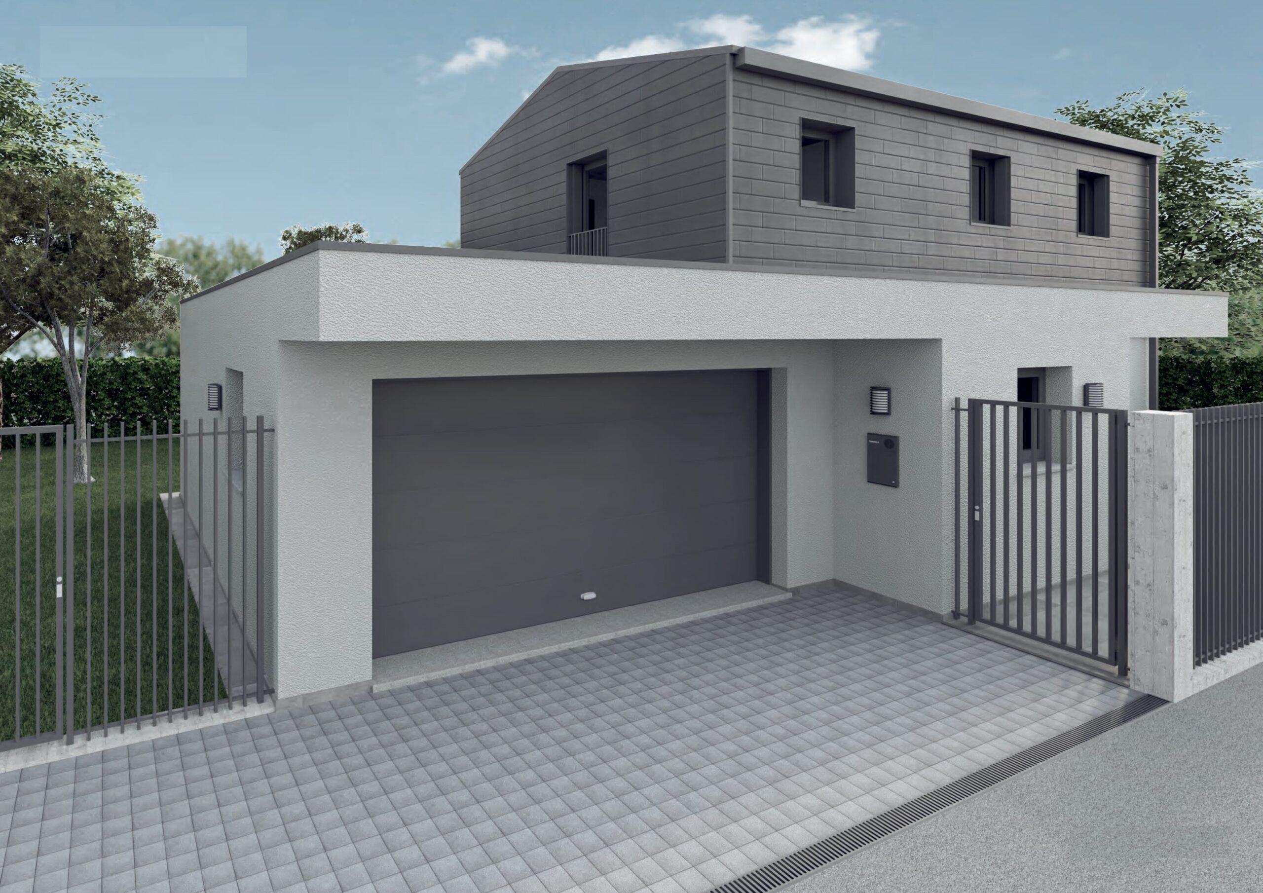 villa singola giardino nuova costruzione