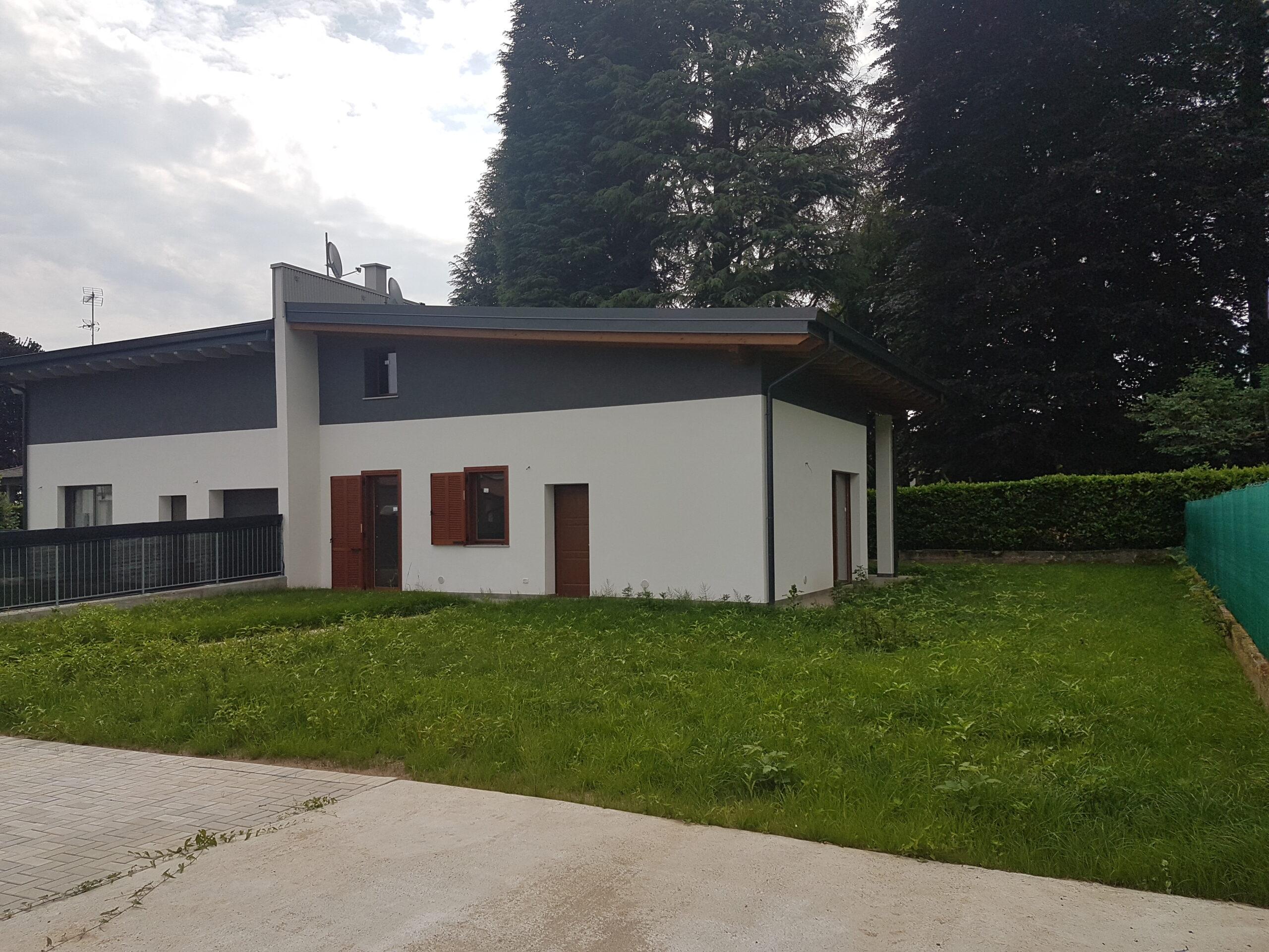 villa giardino nuova costruzione