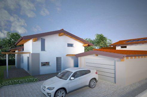 Lesa villa di nuova costruzione