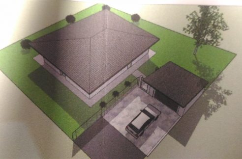 Invorio villa in costruzione