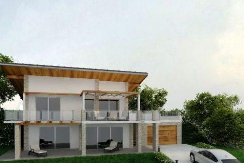 Arona villa singola in costruzione